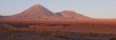 #1: Volcan Licancabur, directly North of the confluence according to the map