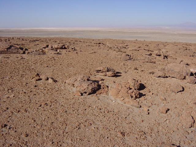 Looking southwest towards Atacama Salt Flat