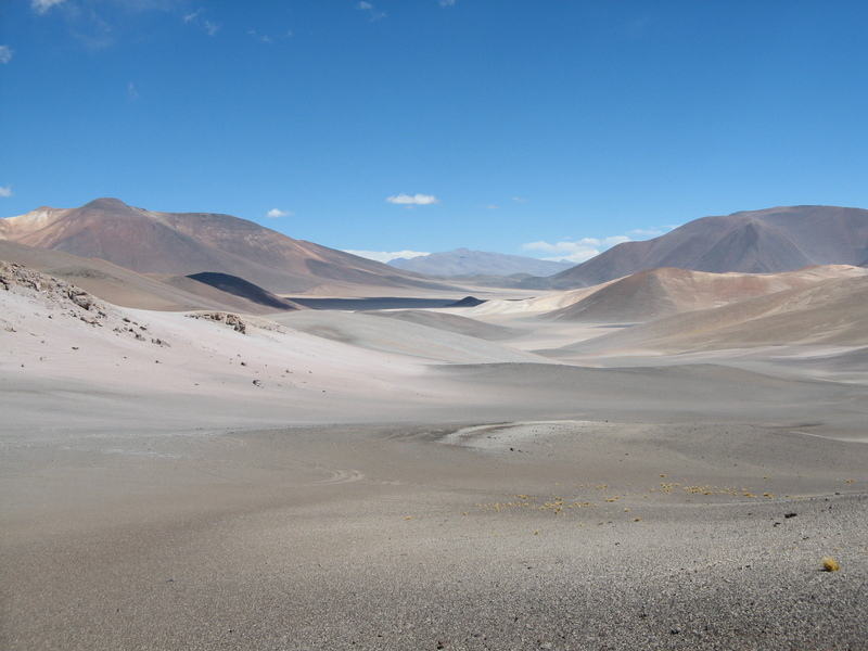 View of Altiplano between the Confluence and camp.