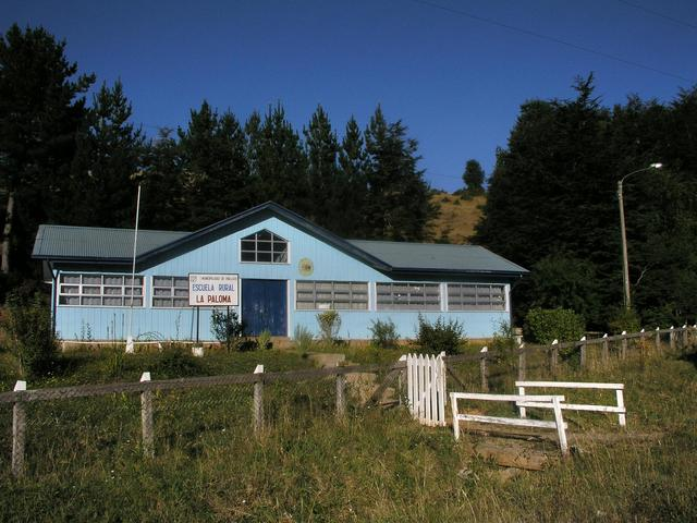 Rural school 2 km away