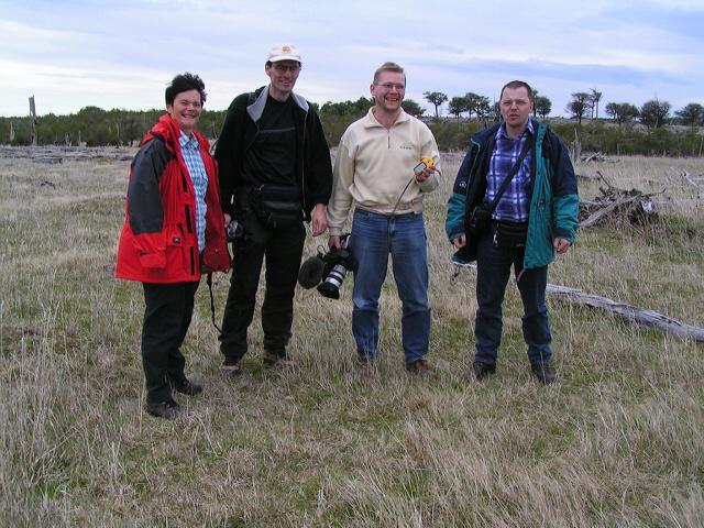 Barbara, Gerhard, Mathias and Bert
