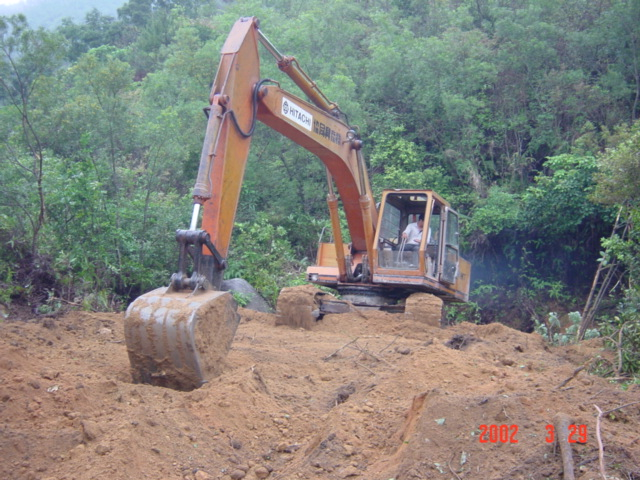Clearing land for cultivation