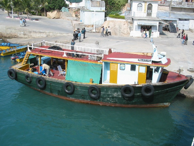 Fishing boat we almost succeeded in hiring.