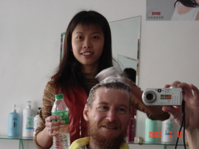 Yet another Chinese hairdresser