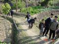 #7: Children scrambling to avoid the camera