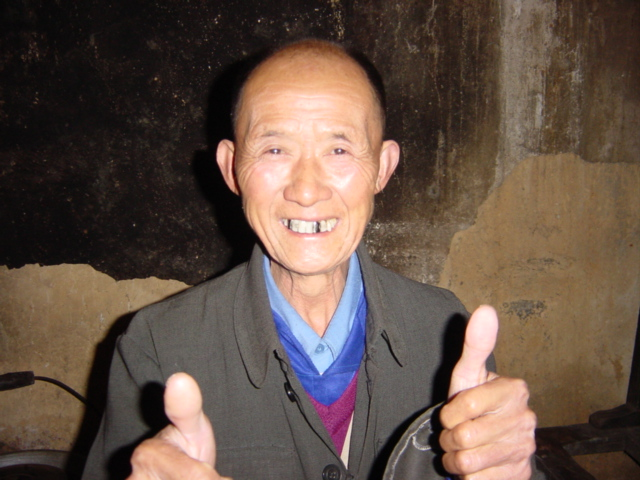 My congenial host in Huangtang, a member of the Yao minority nationality