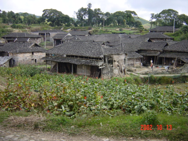 Tiny village of Changhu.