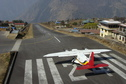 #4: The sharp drop-off at the end of Lukla's short runway makes it one of the world's most dangerous airports.