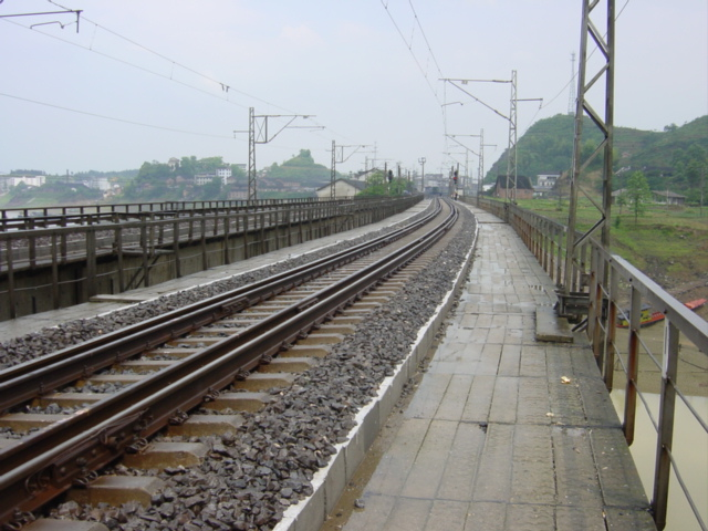 Railway bridge to the west of Pingkou