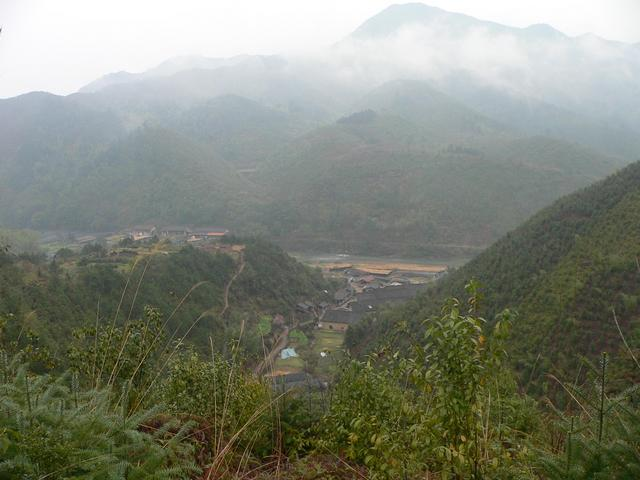 Facing north: Antian Village and the Badu River