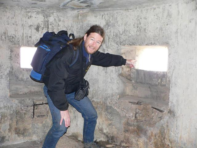 Targ inside the pillbox