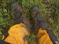 #8: Tired feet during the hike...