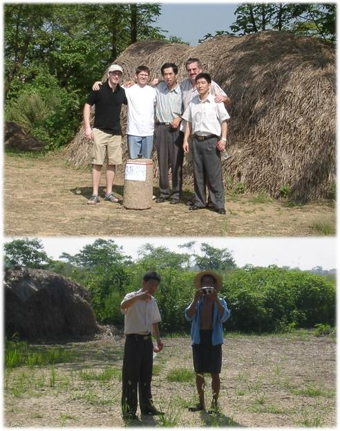 Hunters with photographer (Jürgen, Helmut, Yang Hanzhong, Hans & Fan Bi Wei)