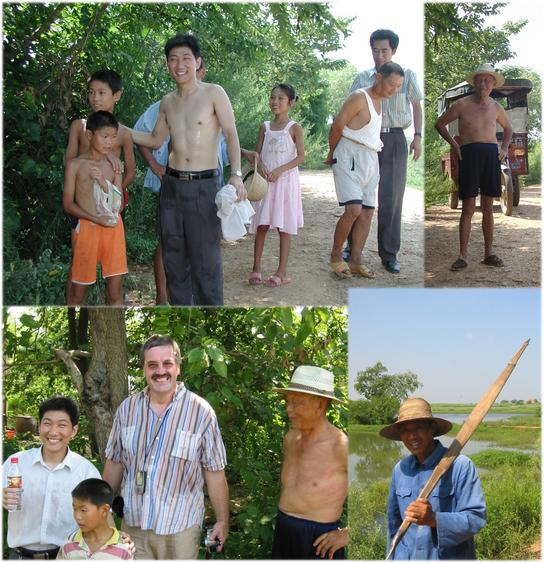 Small talk with local residents of the XONG JIA ZAI village