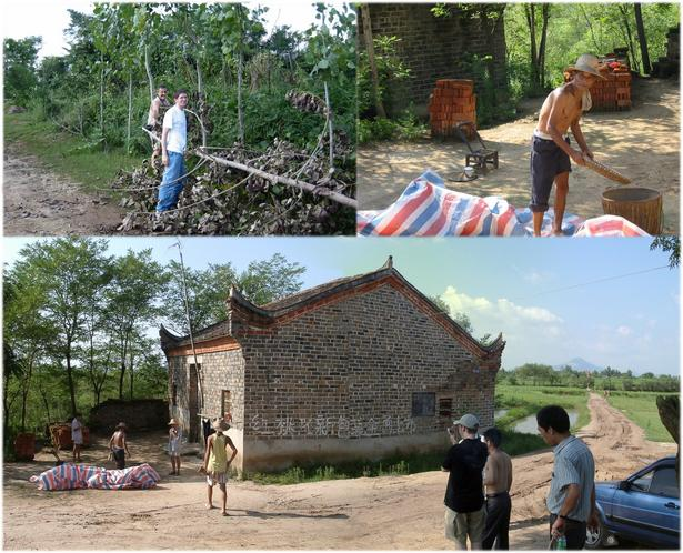 Searching for access; clearing roads; life in village nearby