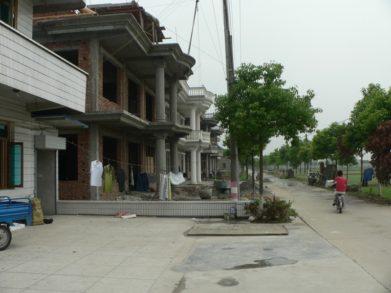 Some elaborate houses on Máojiādài Street