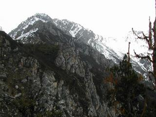 #1: The ridge leading to the confluence, Elevation 3,750 meters