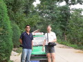 #4: Targ and our taxi driver in Xiàliǔ Village
