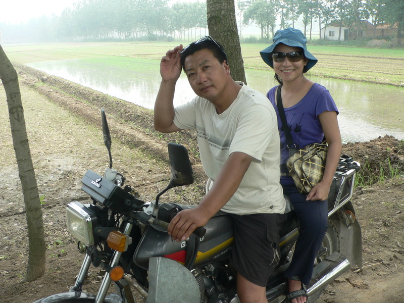 Ah Feng with our motorcyclist