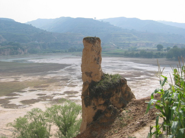 Eroding Loes near a River