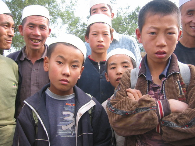 Huizu Minorities are being asked where the Centre of China is