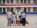 #9: Ah Feng and Targ with the police at the Mǎjiā police station