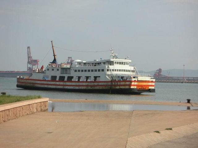 The ferry we took from Qingdao to Huangdao (and back)