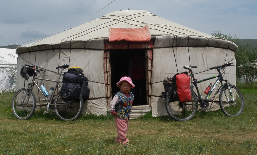 Mongolian Roadside Holiday Camp