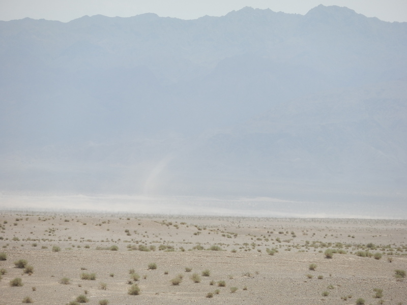 Sand Storms and Wind Devils near the CP