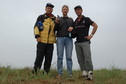 #6: Confluence hunters - left to right, Rainer, Targ, and Peter