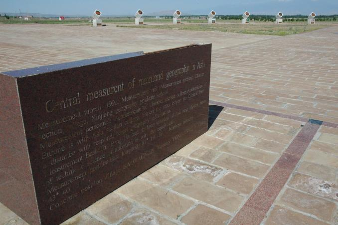 Background information about the measurement of the Geographic Center of Asia