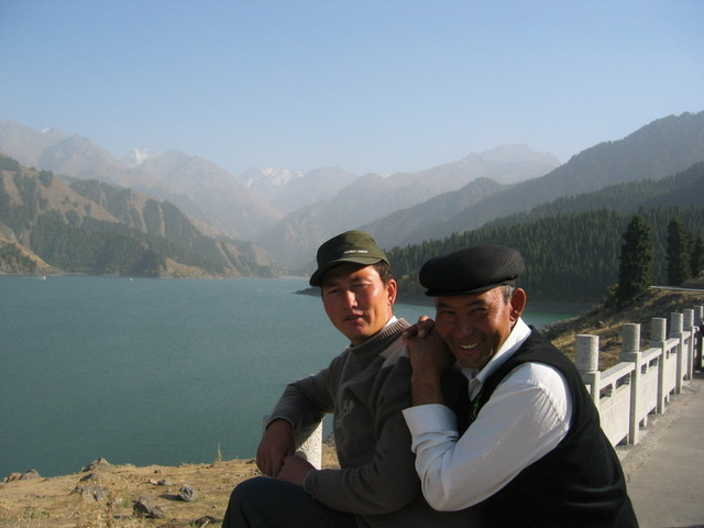 Kazakhs at Tiānchí