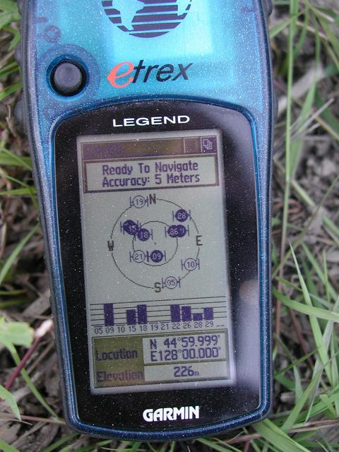 GPS Reading - 2M from perefect zeros