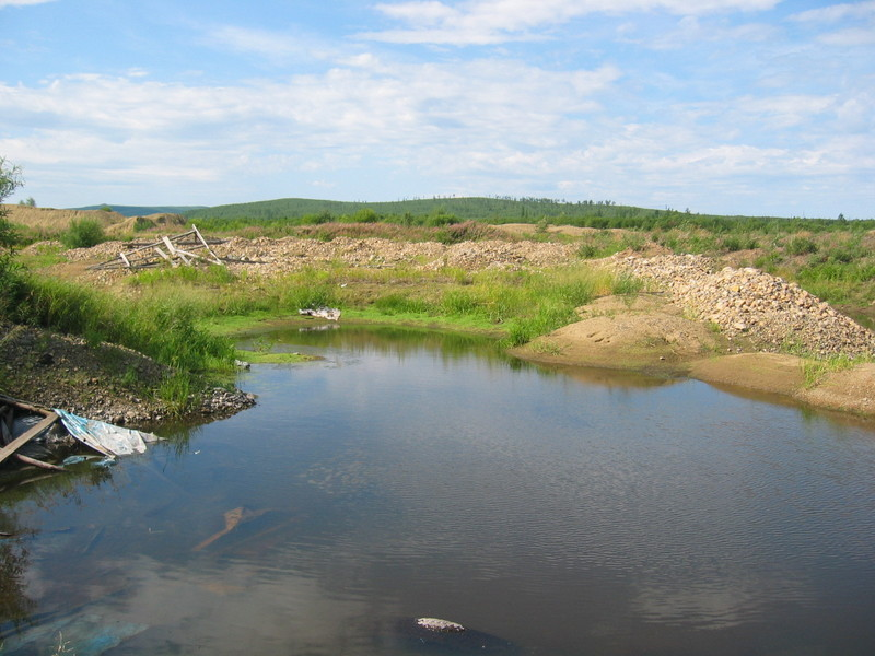 Former Gravel Pit filled with Water