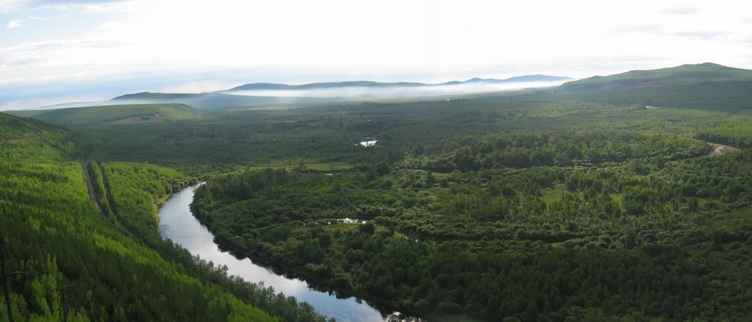 The Amur River Valley