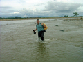 #8: Crossing a small leg of Arauca River