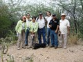 #6: THE HUNTER TEAM. ROSALDA, TAVEL, EVA, ME, RICARDO, HECTOR AND REINALDO