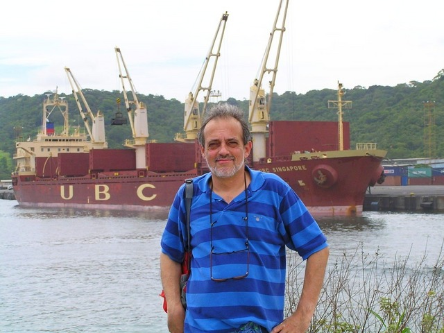 Captain Peter at Puerto Caldera