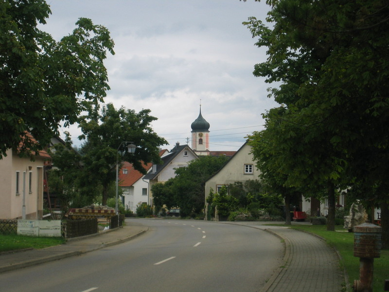 The Village Buchheim 1 km North of the Confluence