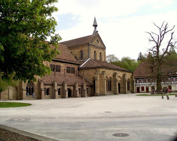 Romanesque church at Maulbronn monastery