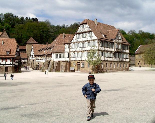 Half-timbered houses at Maulbronn monastery