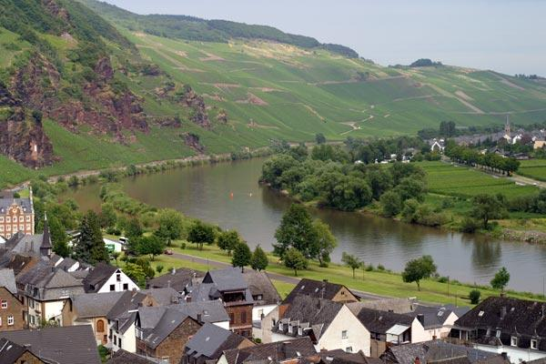 The very beautiful Mosel-River