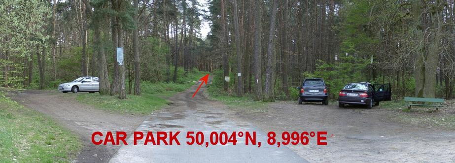Parking – outskirt of Zellhausen
