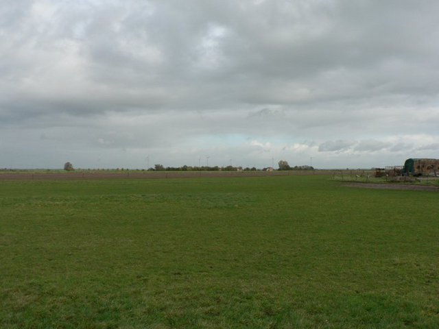 View to the North - The DCP lies about 16 meters inside the meadow