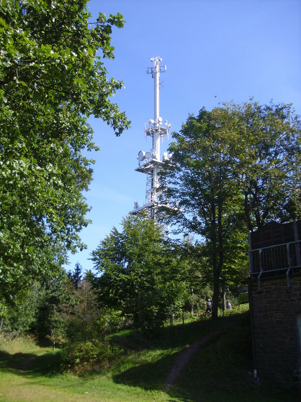 Radio tower at the Kindelsberg