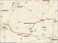 #7: My track on the map	(© Microsoft AutoRoute 2002)