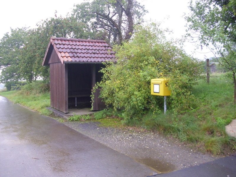Bus shelter in Hagendonop