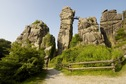 "#8: The ""Externsteine"", not far from the confluence point"