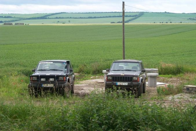 Our jeeps / Unsere Jeeps