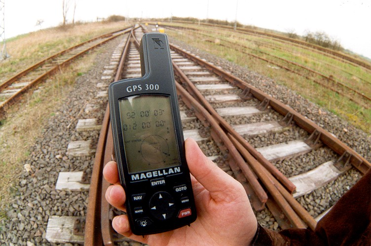 GPS view NE along railway